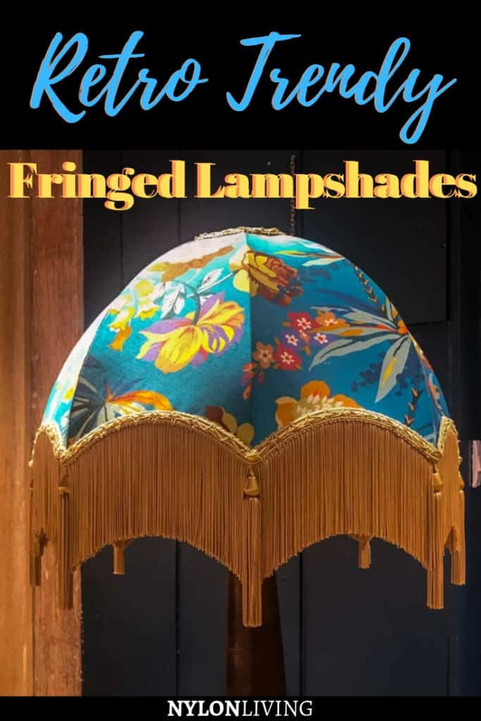 Fringed Lamp Shades That Are Actually Cool (+ Fringe Chandelier and Fringed Ceiling Light Options)