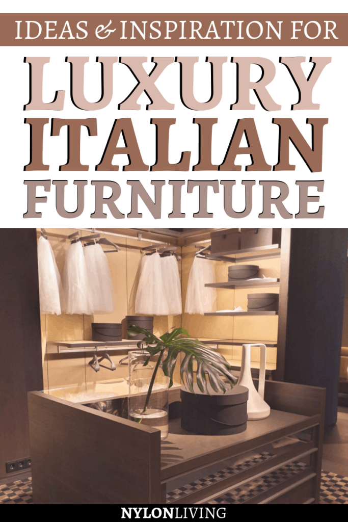 Luxury Italian furniture brand Poliform is well known for its sleek closets and wall systems, and its customisable Poliform systems. But it's not all: a Poliform kitchen, a Poliform dining table or Poliform sofa can elevate your pad into the stylish modern home you always wanted.The contemporary Italian bedroom furniture can range from beds to wardrobes. Check out these Poliform bedroom, Poliform living room ideas and more! #poliform #livingroom #bedroom #italian #luxuryfurniture #contemporary