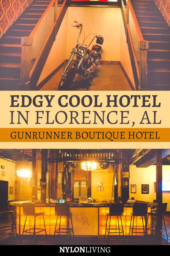 Edgy cool hotel in Florence Alabama