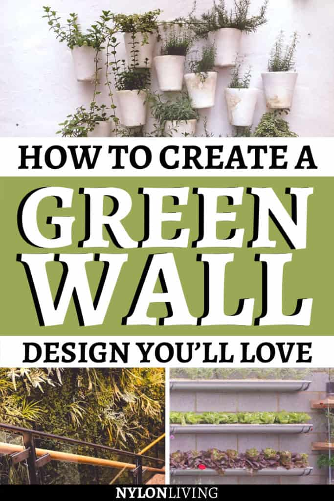 How to create a Green Wall design you'll love