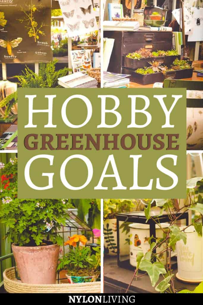 Hobby Greenhouse Goals