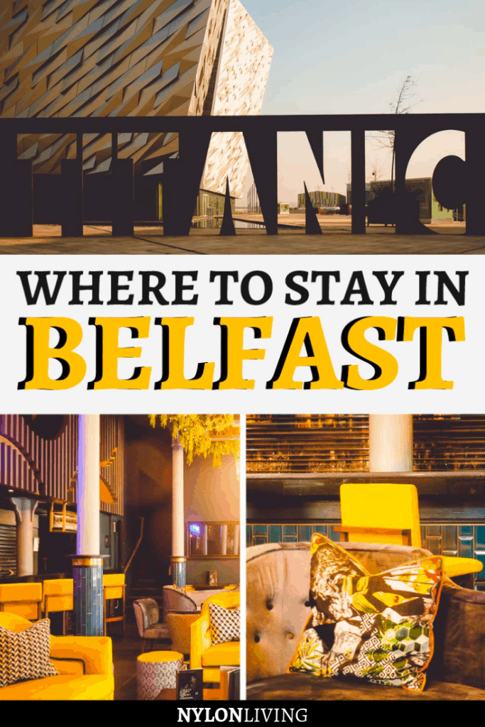 Looking for eclectic cool with a great city center location in Belfast, Northern Ireland? Malmaison Belfast is just the spot for you.This a boutique style hotel in Belfast is perfect for travellers seeking affordable luxury. If you're wondering where to stay in Belfast, click and read this review and let's see if I convince you! #belfast #northernireland #hotel #boutiquehotel #hotelreview