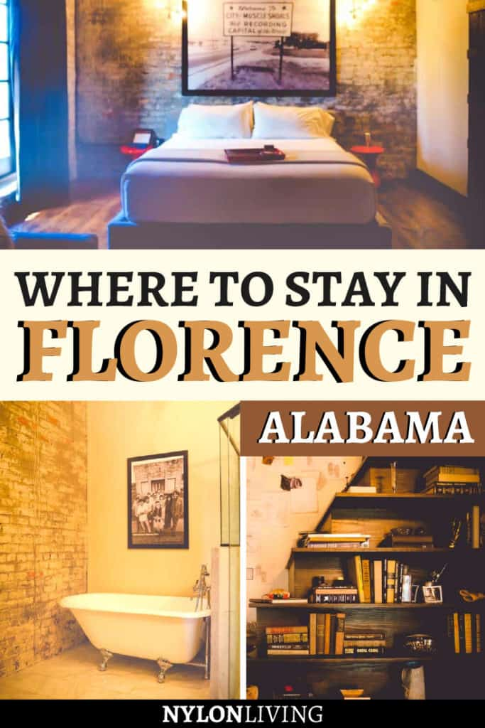 Where to stay in Florence Alabama