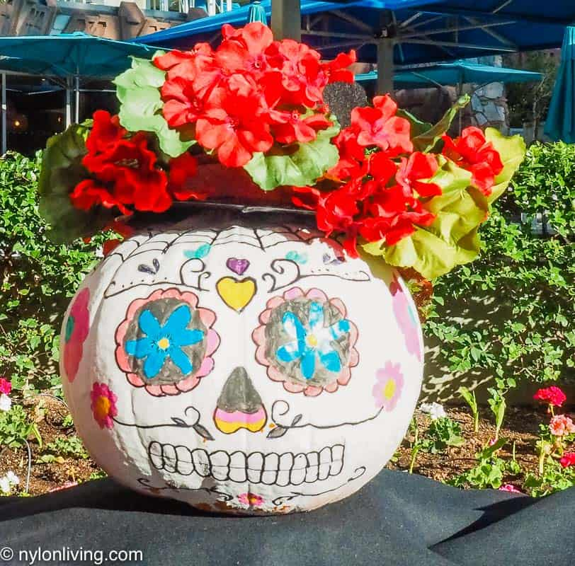 Day of the Dead Jack O'Lantern
