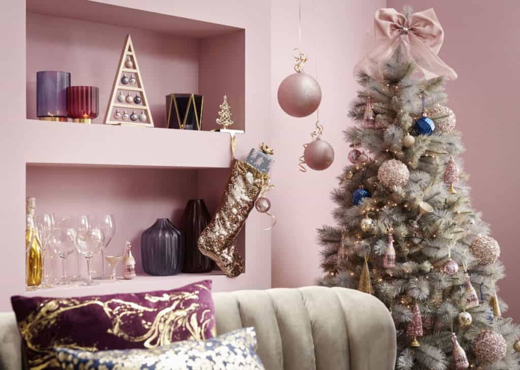 Pink Christmas Ornaments For A Whimsical Yet Elegant Festive Mood