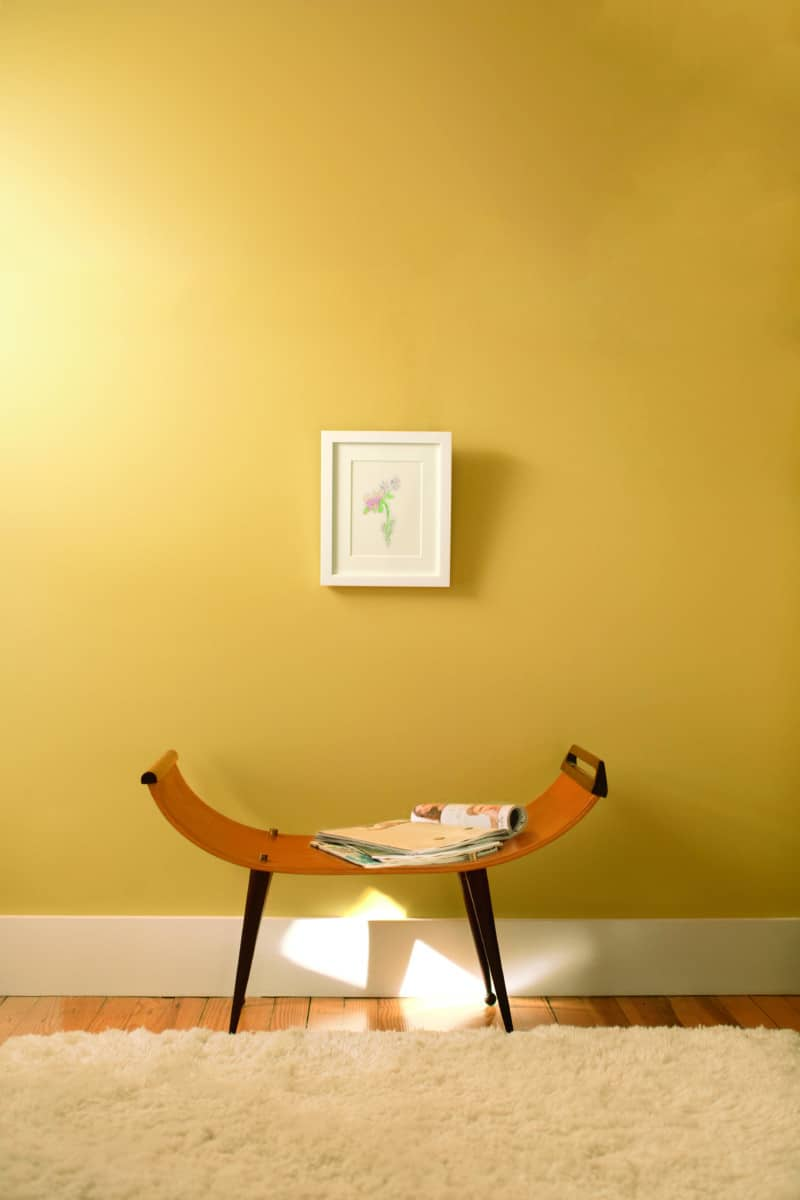 Benjamin Moore Aura York Harbor Yellow